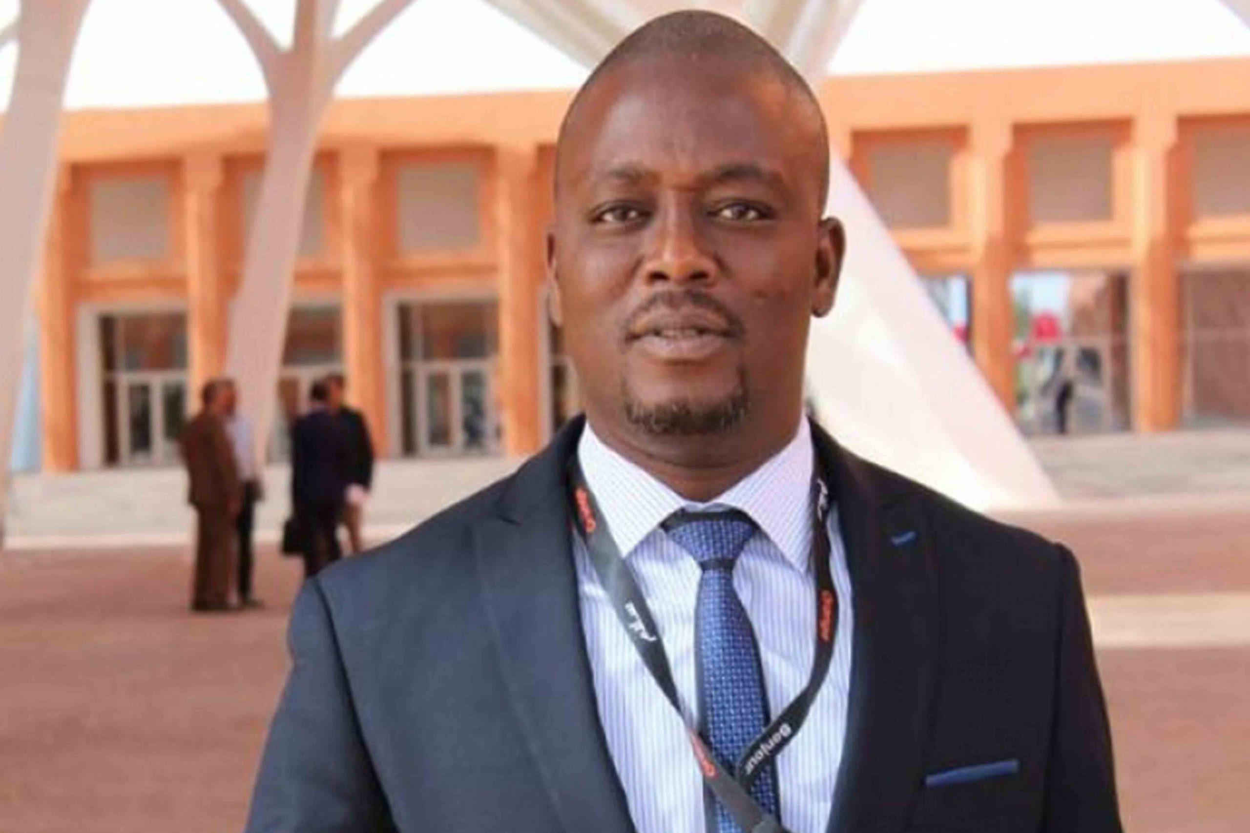 David Baini Djagbavi promoteur du T des médias