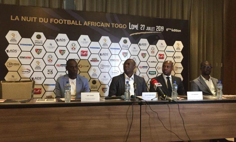 la nuit du football africain au Togo