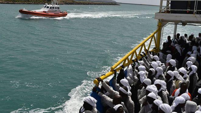 70 migrants secourus en Méditerranée