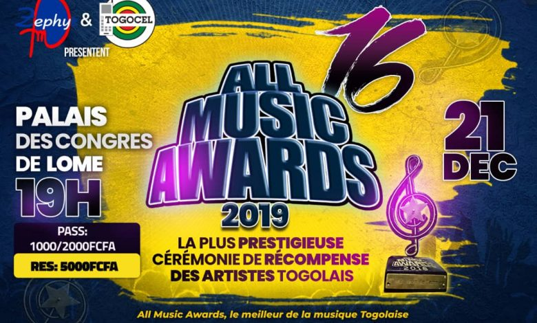 All Music Awards 2019, les nominations