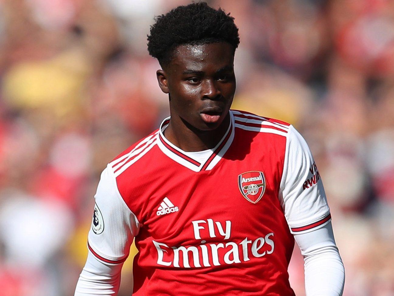 Bukayo Saka hésite entre l'Angleterre et le Nigeria
