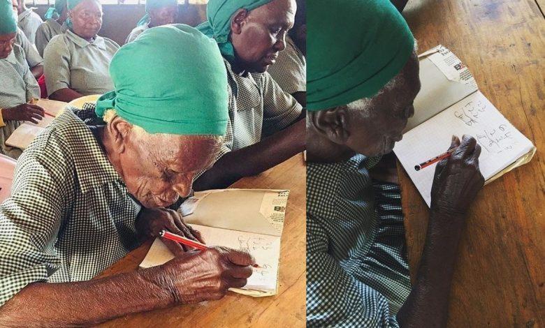 Chebelina Mukomuga, l'écolière de 95 ans