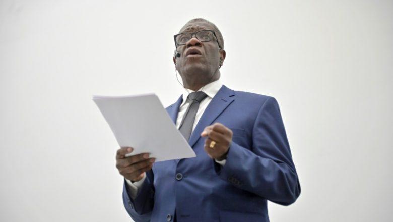 Denis Mukwege lance « un fond Mondial » pour la réparation des survivants des victimes de violences sexuelles