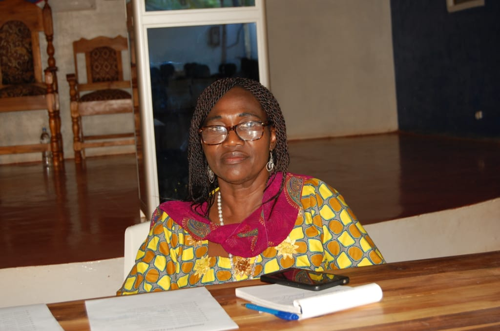 Dr. Solange Toussa-Ahossou, Directrice nationale de l'ONG Défi du Futur