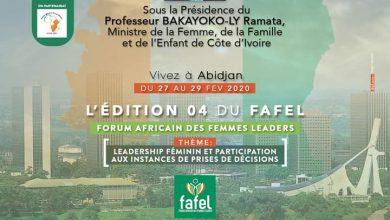Photo of Côte d'Ivoire : FAFEL 2020, « Leadership féminin et participation aux instances de prises de décisions »