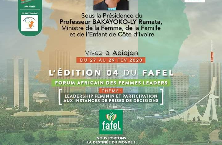 FAFEL 2020, « Leadership féminin et participation aux instances de prises de décisions »
