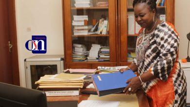 L'honorable Germaine Kouméalo Anaté, député Togolaise, ex-ministre de la Communication, de la Culture, des Arts et de la Formation civique