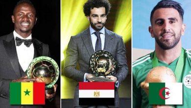 Photo of Joueur africain de l'année 2019 : qui de Mané, Salah et Mahrez remportera le trophée ?