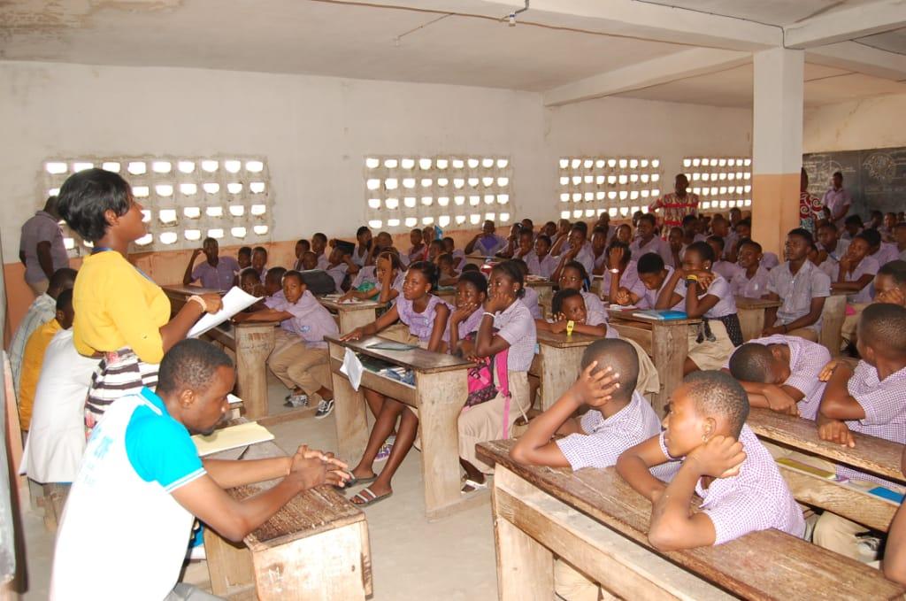 L'ONG Défi du Futur sensibilise les élèves du collège Abigaïl