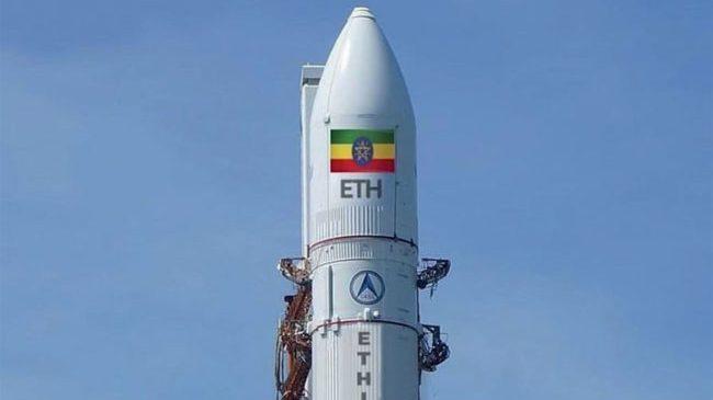 Premier satellite dans l'espace