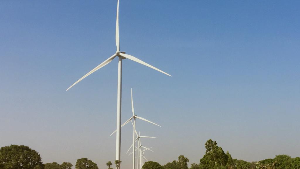 Le Sénégal inaugure son premier parc éolien à Taïba Ndiaye