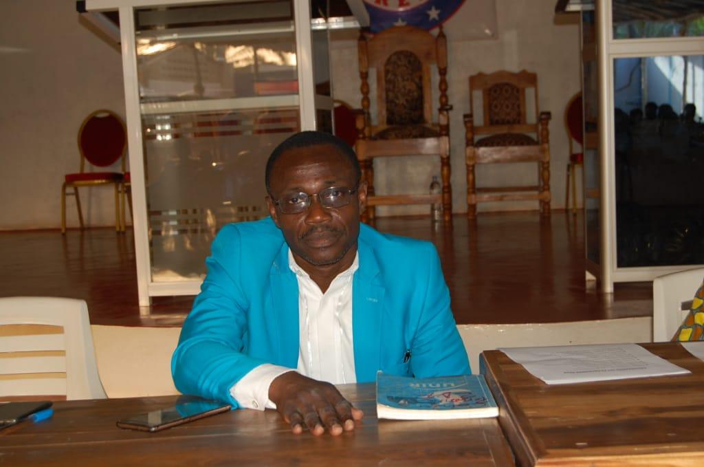 M. Raphaël Ahonsou, président national de l'ONG Défi du futur