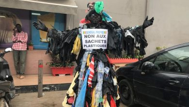 "Photo of Modou Fall, l'activiste qui milite pour un ""Sénégal sans plastique"""