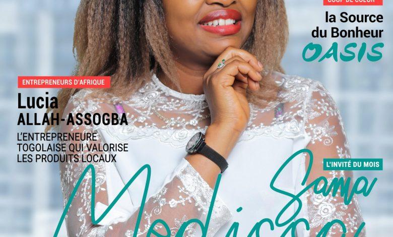 L'entrepreneure Togolaise Médissa Sama est l'Invité de la 13e parution du magazine Ocean's News