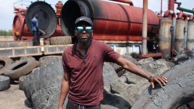 Photo of Seth Quansah, l'entrepreneur ghanéen qui transforme des pneus en carburant