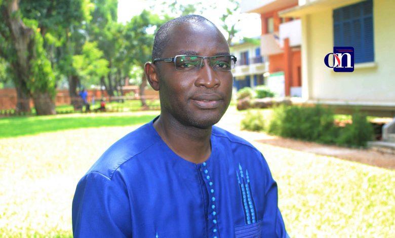 Steve Bodjona promoteur de la foire internationale du livre de Lomé.