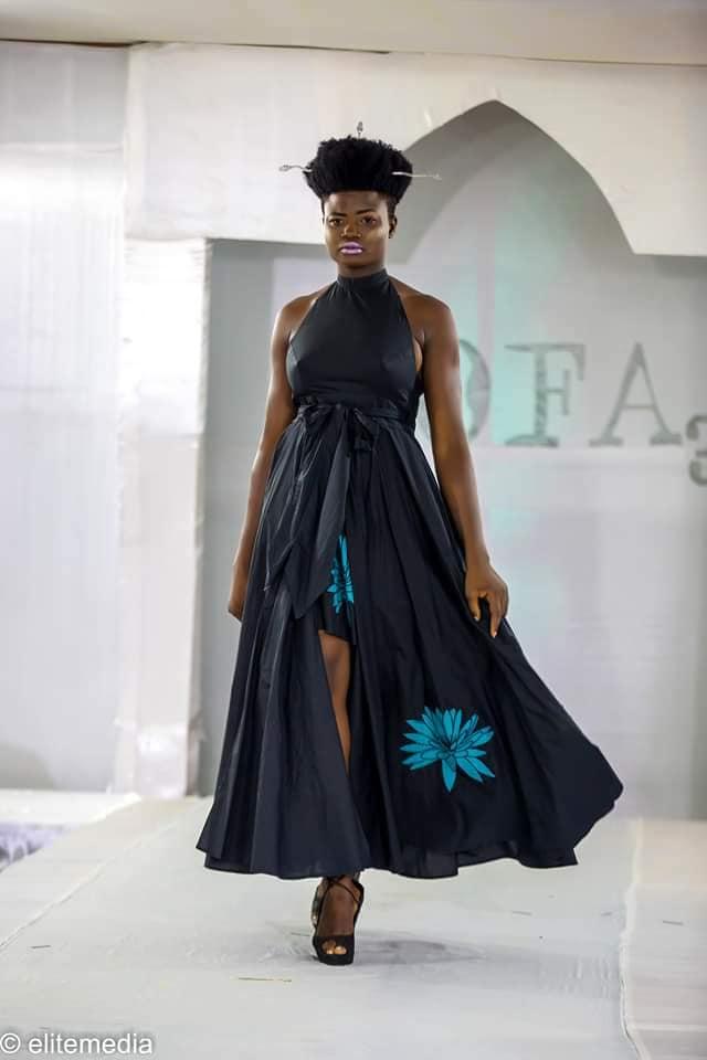 Une création de Paul Hervé Elisabeth présentée à la 3e édition du Festival Koborou Fashion Awards au Bénin