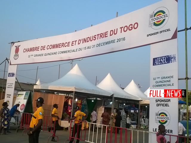 l'édition 2019 de la quinzaine commerciale au Togo ouvre ses portes ce 15 décembre