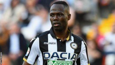 Le Ghanéen Emmanuel Agyemang Badu autorisé à jouer à nouveau
