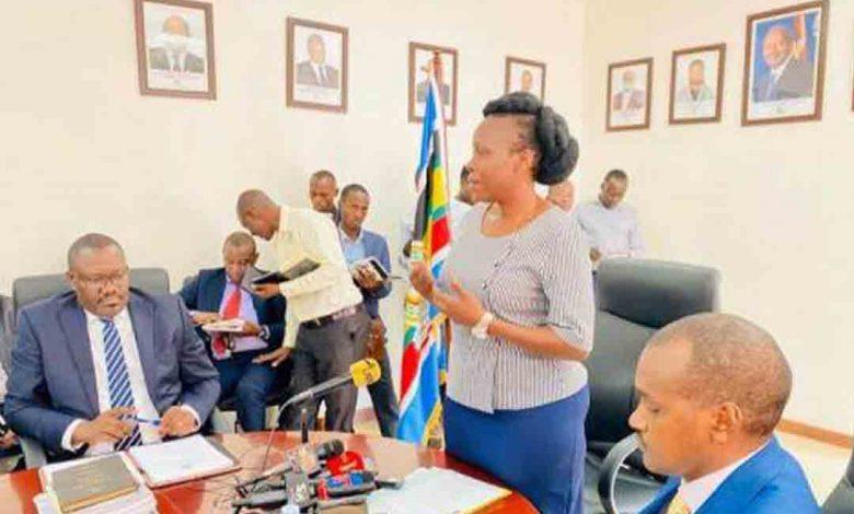 Judith Nabakooba, la ministre des Technologies de l'information et de la communication
