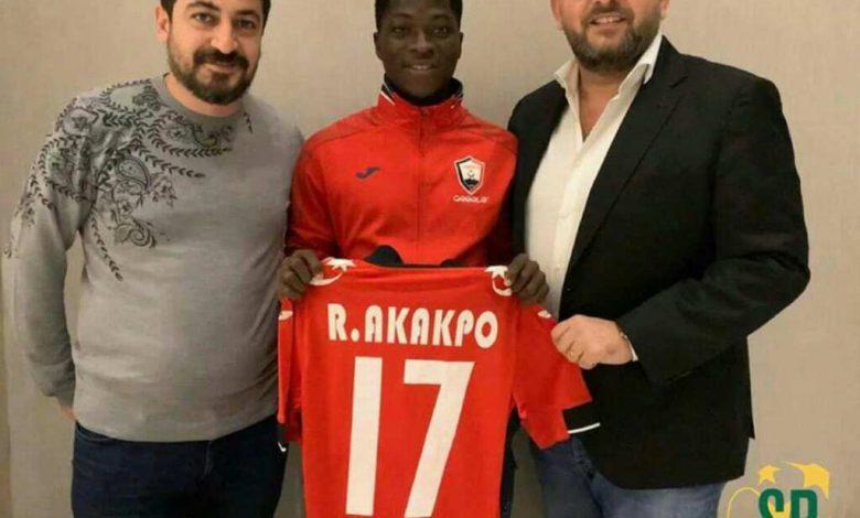 Akakpo Yaovi Roger atterrit à Gabala FK en Azarbaidjan