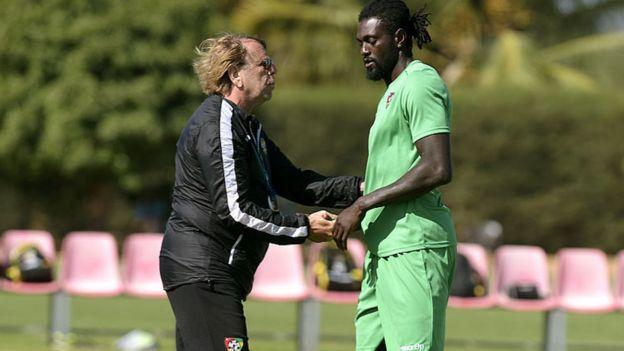 Claude Le Roy s'exprime sur le transfert d'Emmanuel Adebayor