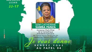 Photo of FAFEL 2020 : l'ancienne Chef d'État de la Centrafrique sera de la partie