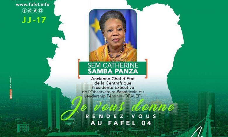 FAFEL 2020, l'ancienne Chef d'État de la Centrafrique sera de la partie