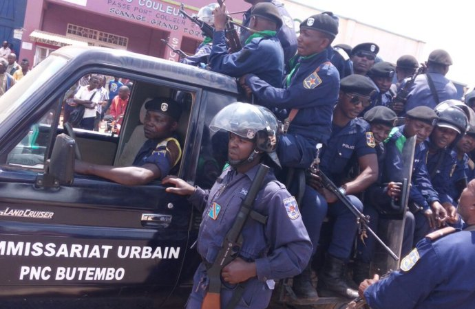Grande série d'arrestations à Kinshasa