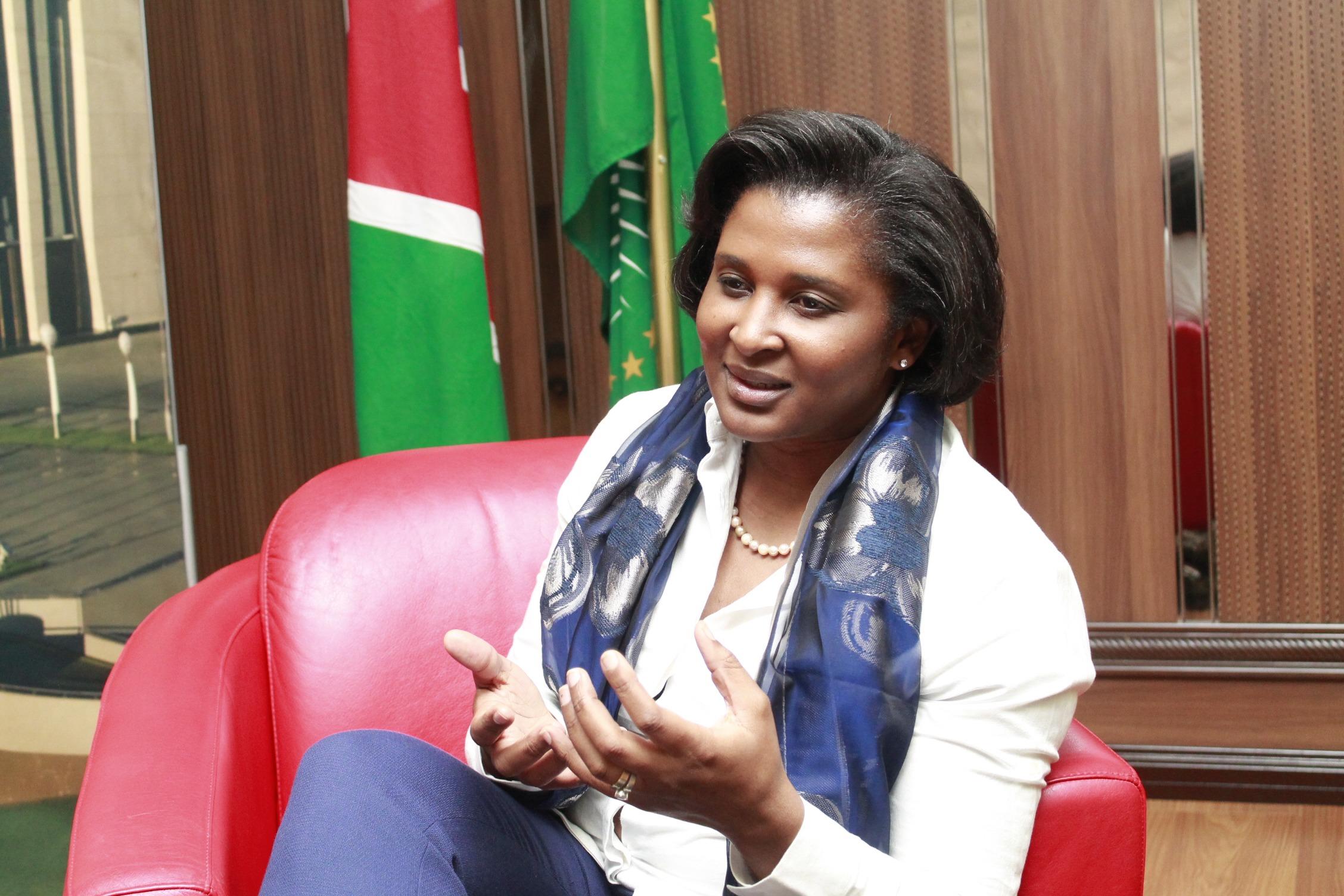 La première dame namibienne Monica Geingos se prononce sur l'avenir de sa fortune