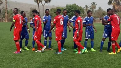 résultats - 16e journée du championnat national togolais de première division