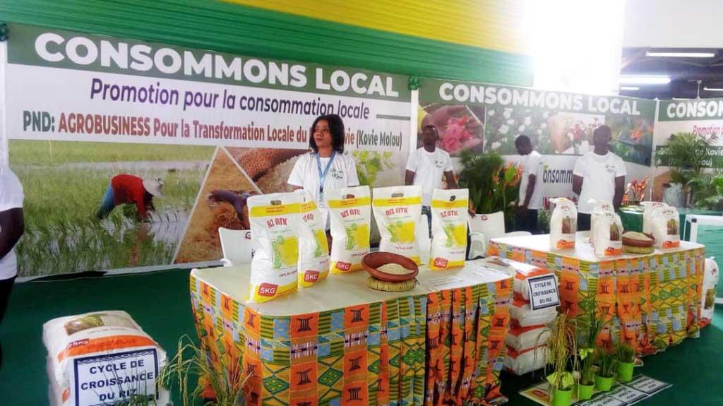 Les produits agricoles made in Togo feront leurs entrées sur les foires internationales