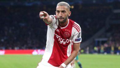 Hakim Ziyech à Chelsea pour 40 millions d'euros