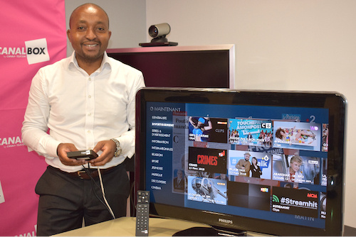 Armand Sato, nouveau directeur général de Canal+ Togo