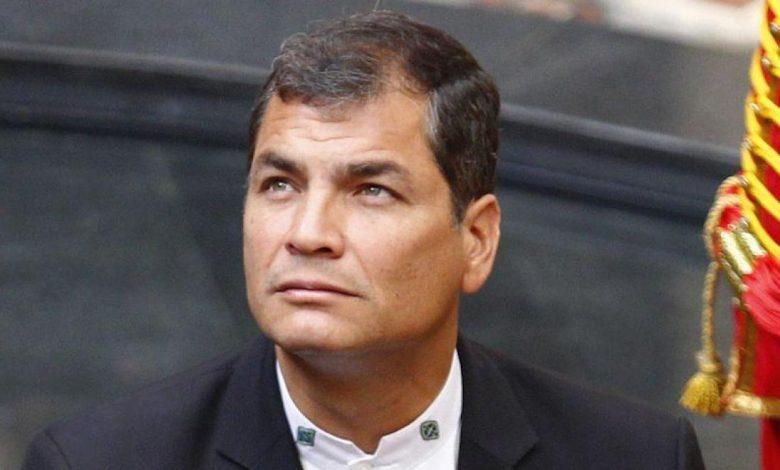 Huit ans de prison pour l'ex-président équatorien Rafael Correa