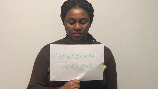 L'activiste ivoirienne Binetou Mariam Traoré présente le hashtag #UneVraieFemmeAfricaine