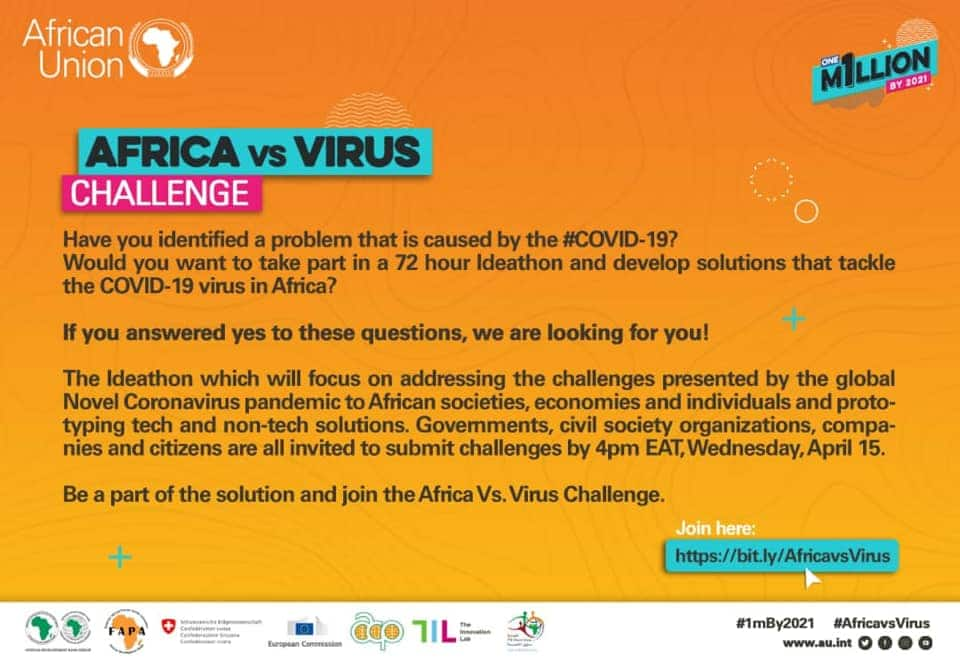 Challenge #AfricaVsVirus