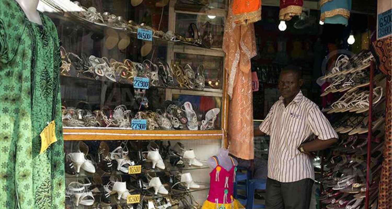 pillage des magasins à Brazzaville pendant le couvre-feu