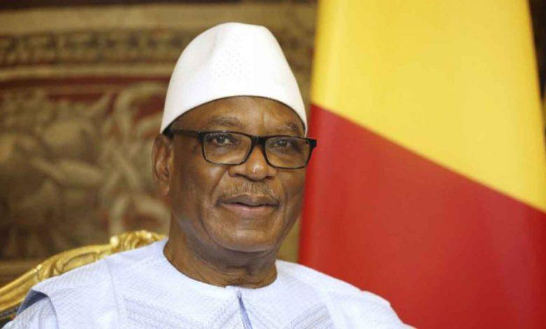 Le Président Ibrahim Boubacar Keita