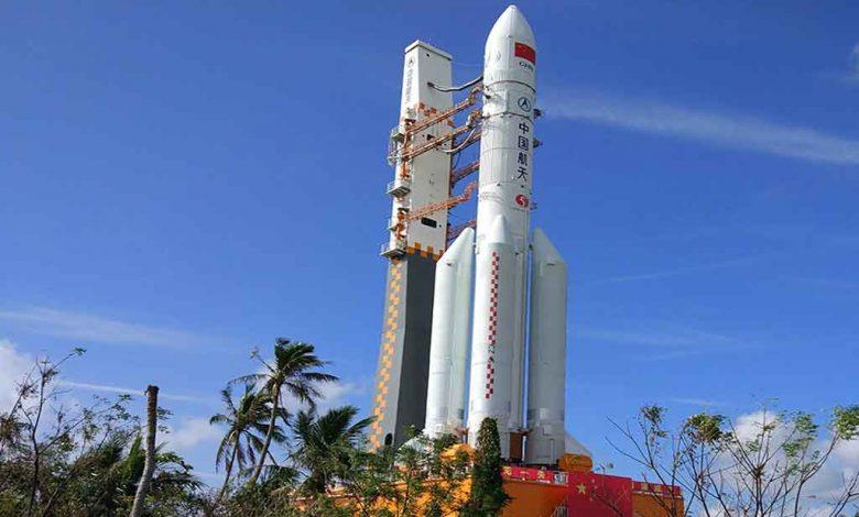 fusée chinoise Longue marche 5