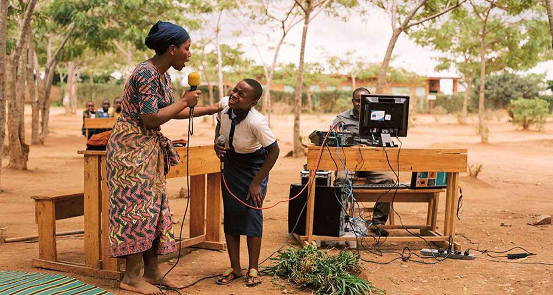 Des jeunes Rwandais