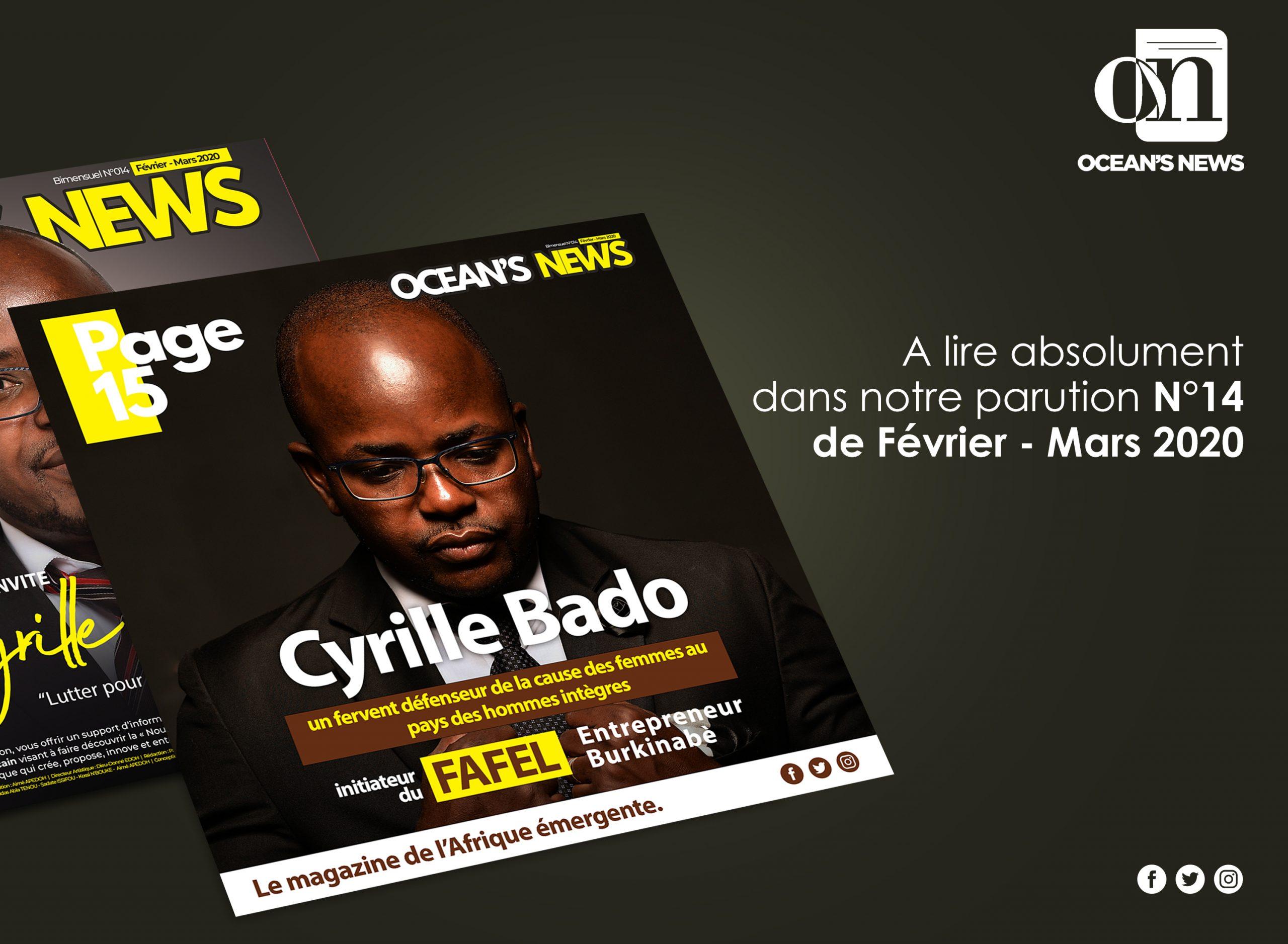 Entretien avec Cyrille Bado, un fervent défenseur de la cause des femmes au pays des hommes intègres