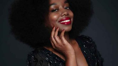 Fatou N'Diaye promotrice Black beauty bag
