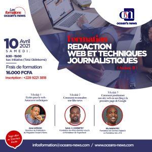 Formation en rédaction web et technique journalistiques