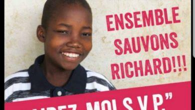 Hälsa International sollicite de l'aide pour sauver le jeune Richard