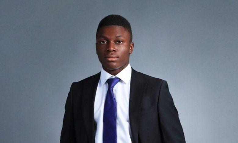 Junior Natabou millionnaire à 17 ans