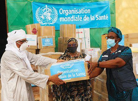 don de matériel médical au Niger