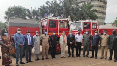 La France vient en aide aux sapeurs-pompiers de Lomé