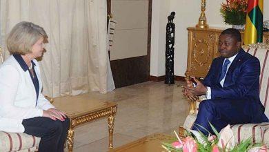La cheffe de la délégation de l'Union Européenne au Togo