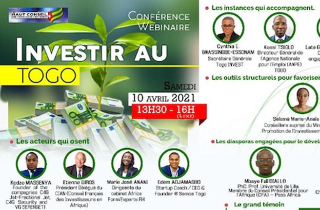Conférence sur l'investissement au Togo